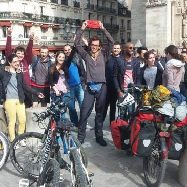 Arrivée à Paris : Merci à tous ceux qui étaient là pour m'accueillir ! :)
