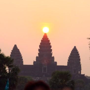 Première frontière passée : arrêt à Siem Reap (Cambodge)