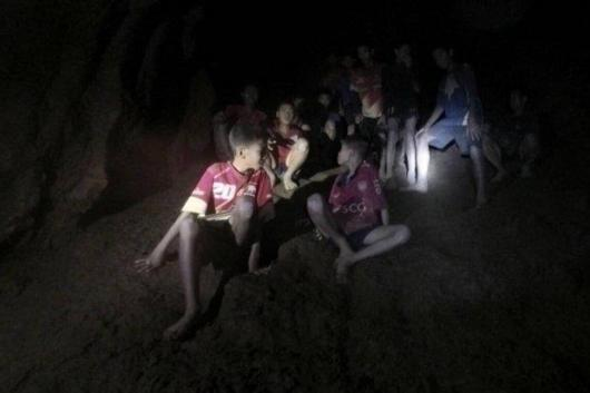 Image result for Found alive on 10th day, Thai boys' cave ordeal not over
