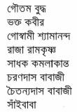 Bharater Sadhak contents 4