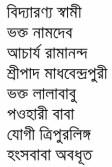 Bharater Sadhak contents 6