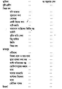 Bibhuti-Rachanabali Content- 4