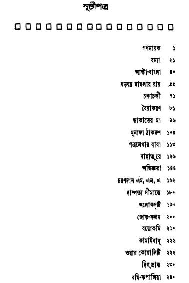 Satinath Bhadurir Shrestha Galpo content