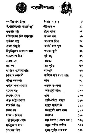 Chhotoder Shreshtha Lekhaker Shreshtha Galpa content