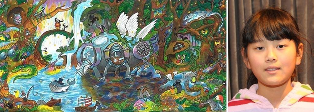 Doodle 4 Google winner Audrey Zhang