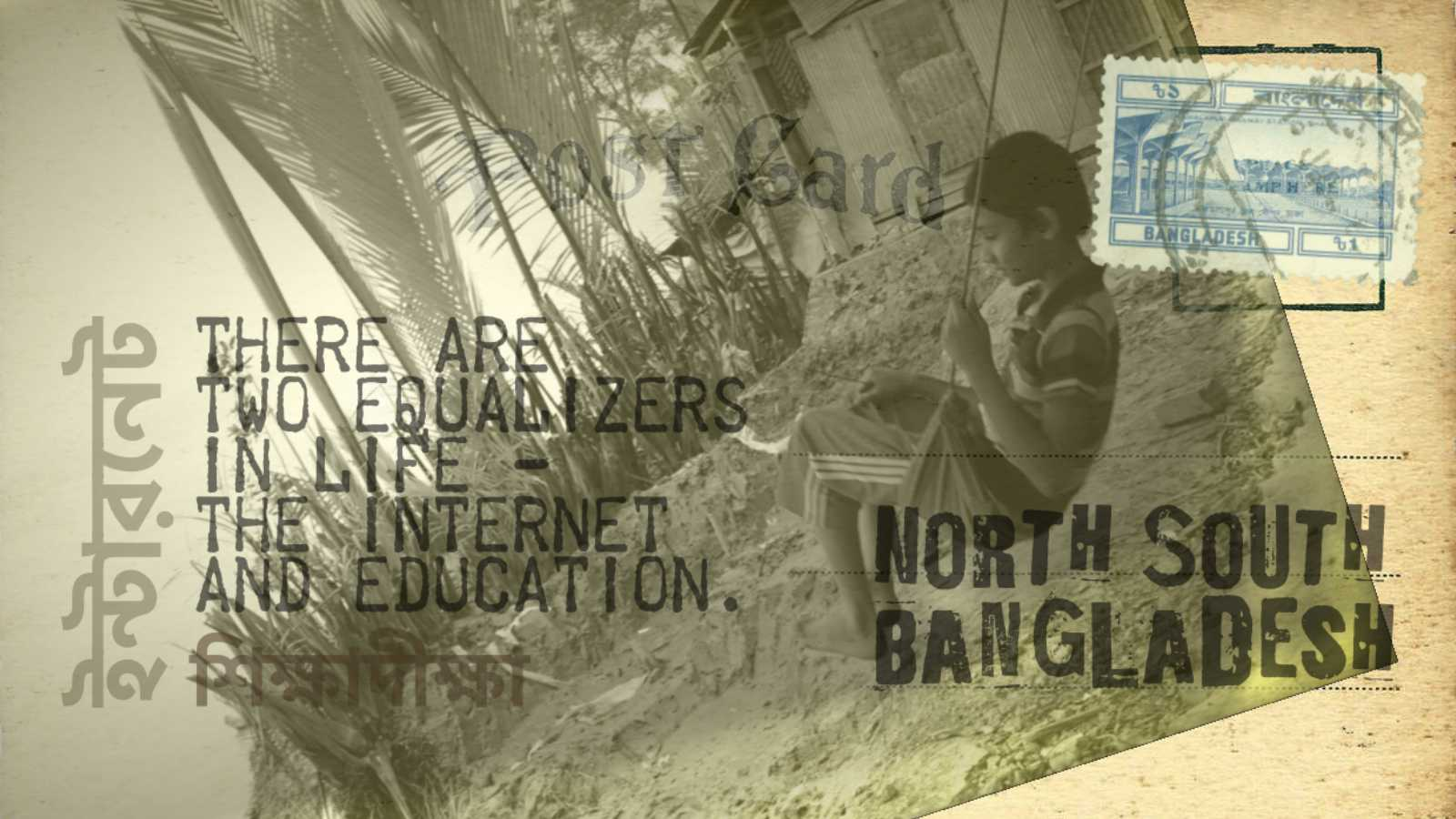 Education and internet in Bangladeshi educational institutes still have gap.