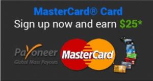 Master Card মাস্টার কার্ড করে ফেলুন সাথে থাকছে ২৫ ডলার