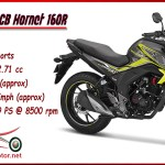 Honda Cb Hornet Price Statement Review Availability