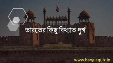 ভারতের কিছু বিখ্যাত দুর্গ