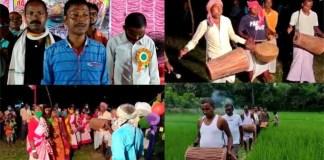 নিয়ম নীতি মেনে করম উৎসব পালন করলো পিঁপড়াটোলা সামাজিক কল্যাণ সমিতির সদস্যরা
