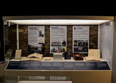 World War History, North Down Bangor Museum in Northern Ireland