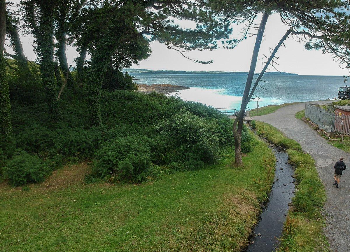 Smelt Mill Bay, Stricklands Glen Bangor Coastal Path in North Down Northern Ireland