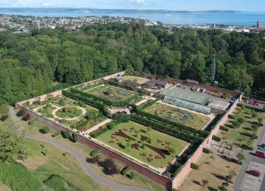 Tourist Attraction, Bangor Castle Walled Garden Bangor N Ireland
