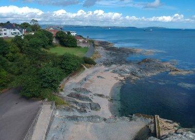 Ladys Swimming Pool, North Down Coastal Path. Bangor to Strickland's Glen. Northern Ireland