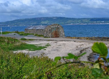 Boat House at Seahill, North Down Coastal Path Bangor to Holywood