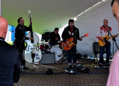 Wild Bill Band, Open House Festival Seaside Revival in Bangor Northern Ireland