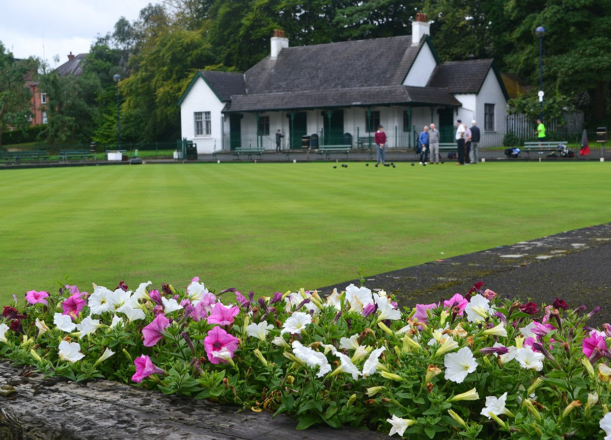 Bowling Green at Ward Park, Tourist Attractions in Bangor Northern Ireland