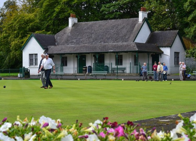 Lawn Bowls at Ward Park, Tourist Attractions in Bangor Northern Ireland