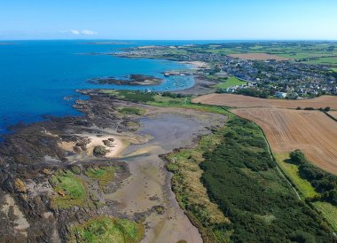 Bangor to Groomsport, North Down Coastal Path. Northern Ireland