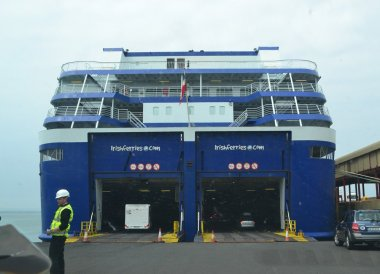 Irish Ferries Rosslaire, Pay the M50 Toll Fine Dublin Ireland