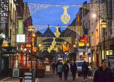 Grafton Street, Christmas in Dublin City Centre Ireland
