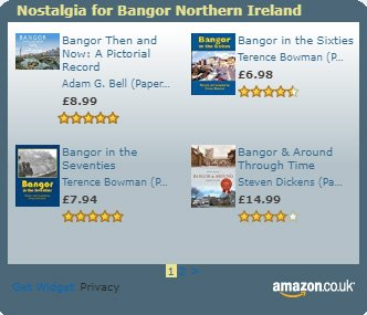 Amazon Widget Books on Bangor County Down Northern Ireland