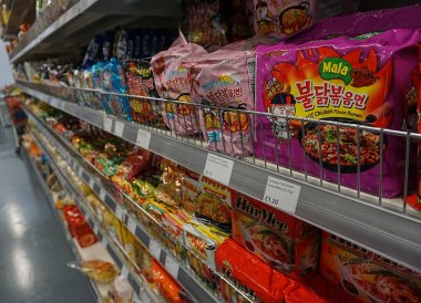 Instant Noodles, New Asian Supermarket Belfast 40 Ormeau Embankment