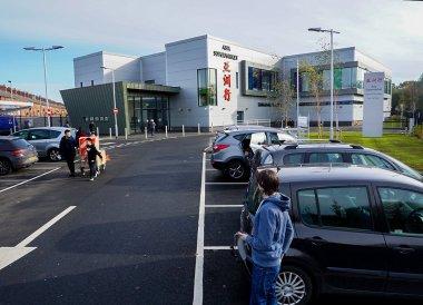 Front Car Park, New Asian Supermarket Belfast 40 Ormeau Embankment