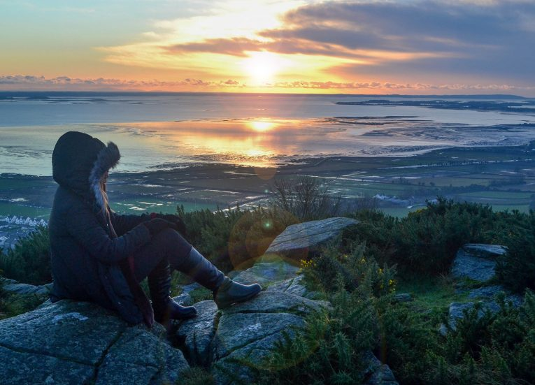 Above Strangford Loch, Things to do in Northern Ireland Tourist Attractions