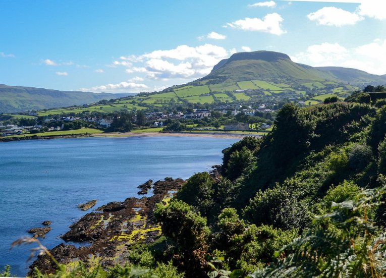 Cushendall Cliff Walk, GIants Causeway Coastal Route, Northern Ireland