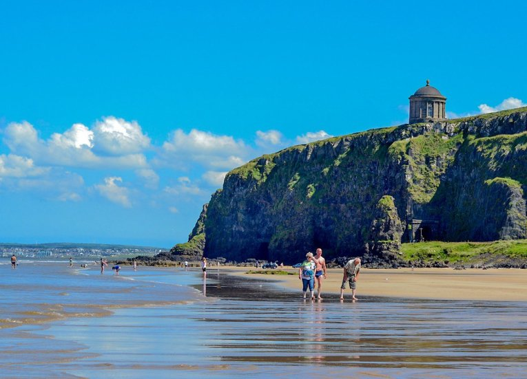 Downhill Beach in Summer, GIants Causeway Coastal Route, Northern Ireland