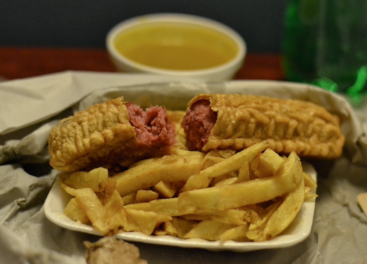 Red Pudding Best Takeaway Food in Northern Ireland Chip Shops