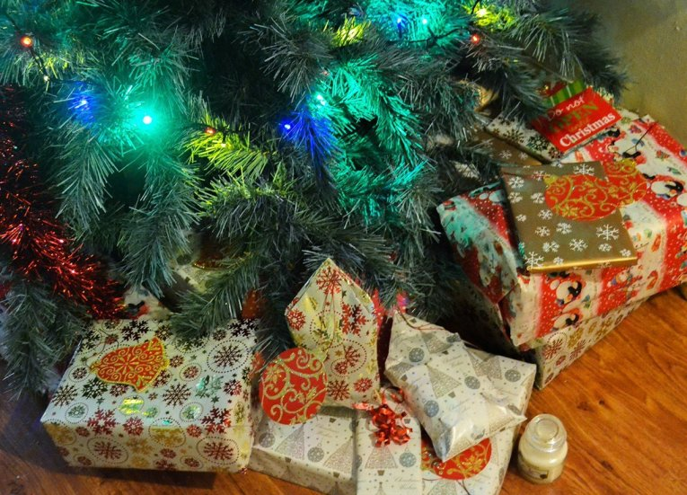 Presents Under Tree, Traditions of Christmas in Northern Ireland, Bangor NI
