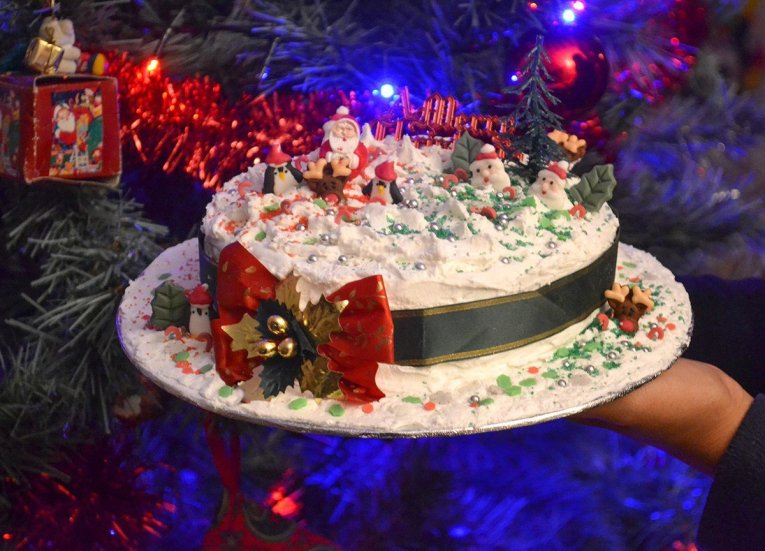 Traditional Christmas Cake,Traditions of Christmas in Northern Ireland, Bangor NI