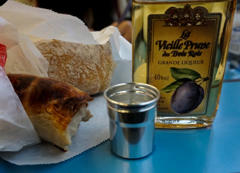 La Vieillle Prune, Plum Fruit Schnapps, Interrail in Winter: Train Travel in Europe Itinerary