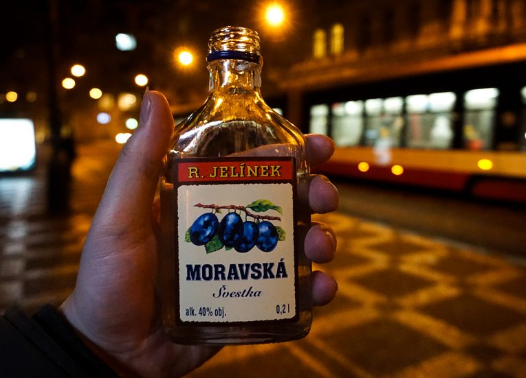 Czech Fruit Schnapps Brandy, Interrail in Winter: Train Travel in Europe Itinerary