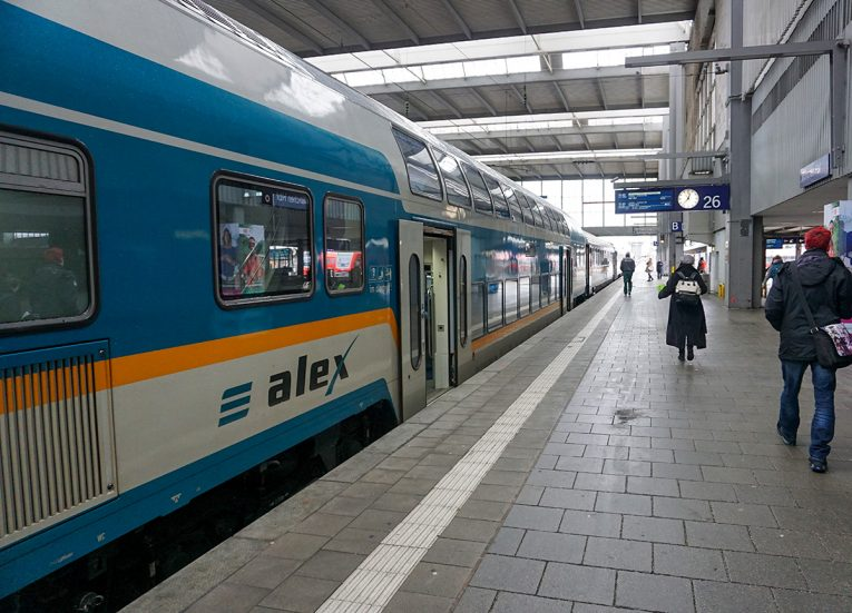 Alex Trains Czech Republic, Interrail in Winter Train Travel in Europe
