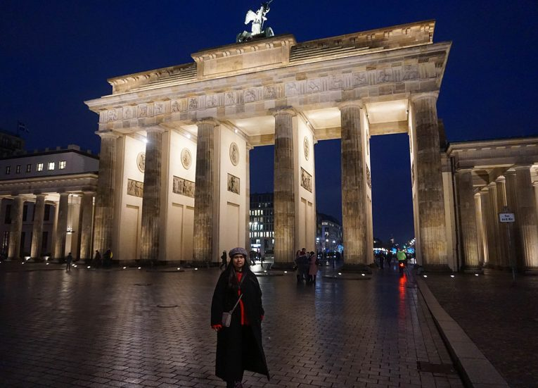 Brandenburg Gate at Night, Interrail in Winter: Train Travel in Europe Itinerary