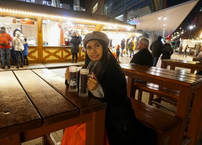 Glühwein Mulled Wined, Interrail in Winter: Train Travel in Europe Itinerary