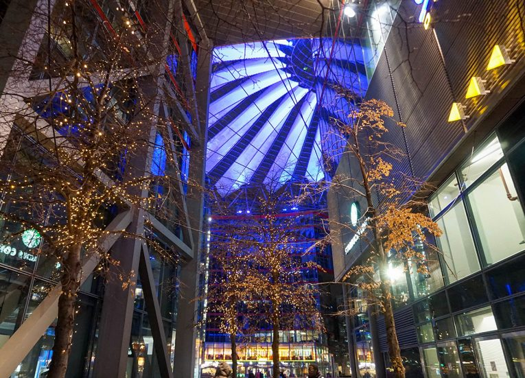 Christmas Potsdamer Platz, Interrail in Winter: Train Travel in Europe Itinerary