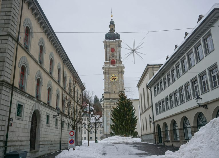 Saint Gallen Cathedral, Interrail in Winter: Train Travel in Europe Itinerary