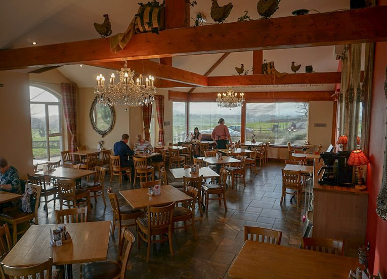 McKees Cafe Farmhouse in Craigantlet Hills near Bangor Northern Ireland