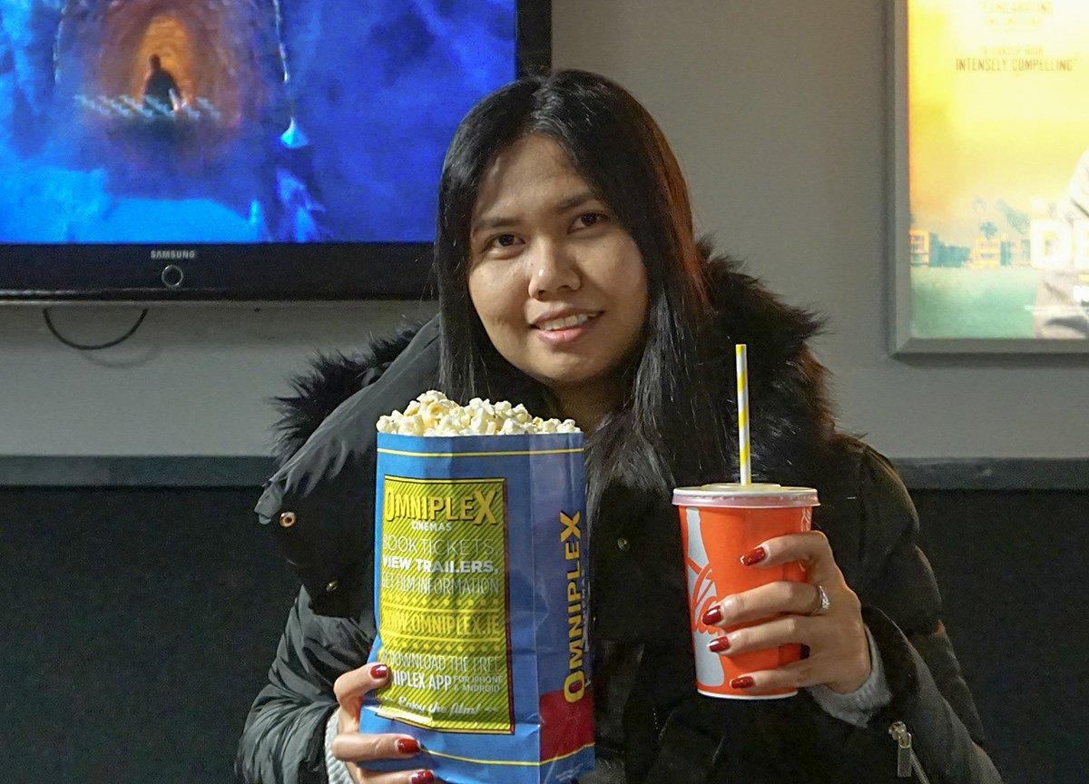 Salted Popcorn Omniplex Cinema in Bangor Northern Ireland NI