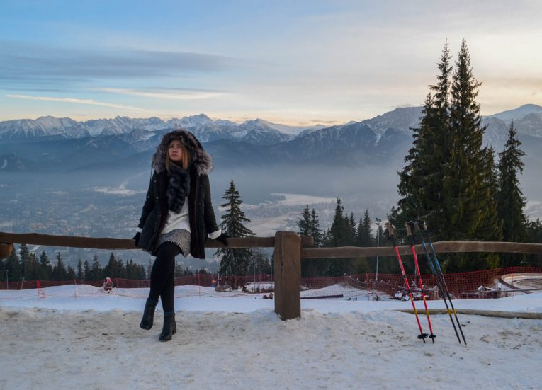 Ski Resort Viewpoint Zakopane-Poland-Winter-Road-Trip-Europe Road Trip in Winter