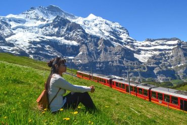 Fanfan Wilson Travel Blogger 3-Day Jungfrau Travel Pass on Jungfrau Railway