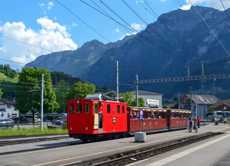 Local Trains on the 3-Day Jungfrau Travel Pass on Jungfrau Railway Switzerland