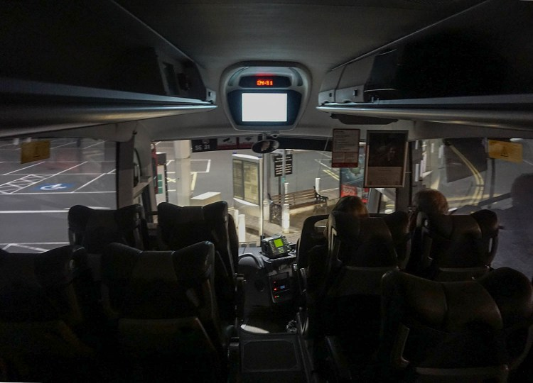 On Board Bus Eireann, Travel from Dublin Airport to Belfast by Bus.