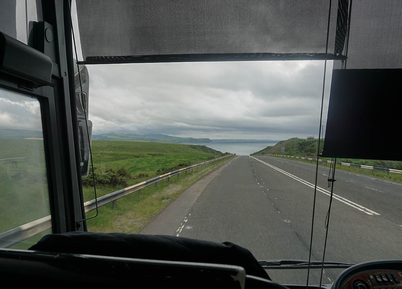 Ulster Bus Tour in Scotland. Belfast to Cairnryan for Stena Line Day Tour to Scotland