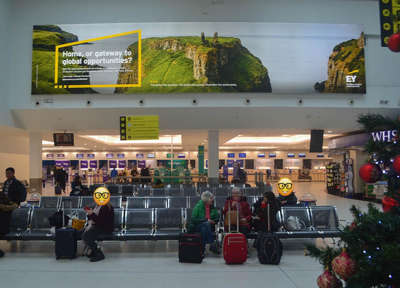 Belfast City Airport Arrivals Tourist Information Travel