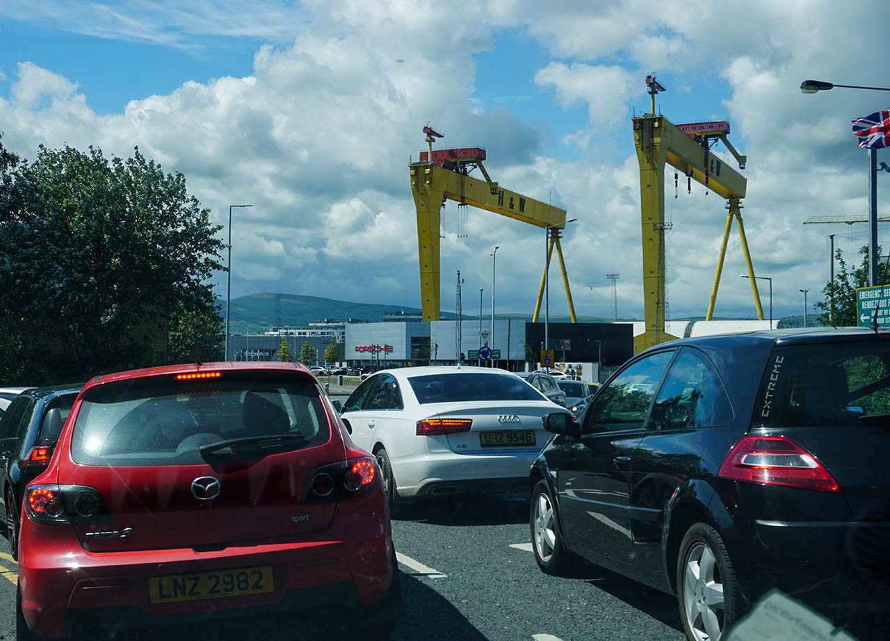 Sydenham Roundabout East Belfast Northern Ireland (10)